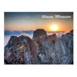 Postal del manganeso de Winona: Niebla de las altu