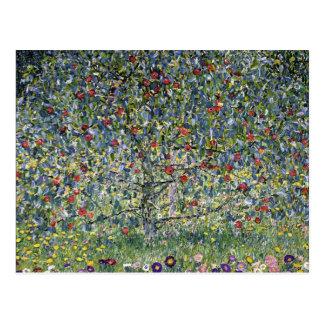 Postal del manzano de Gustavo Klimt