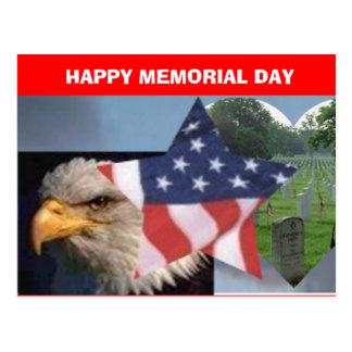 Postal del MEMORIAL DAY