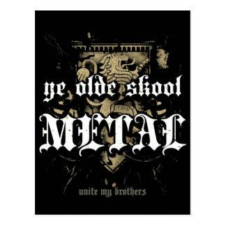 Postal del metal de Rock Life YE Olde Skool