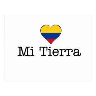 Postal del MI Tierra Colombia