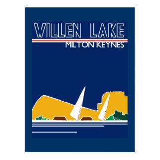 Postal del MK del lago Willen