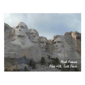 Postal del monte Rushmore