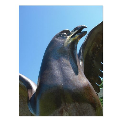 Postal del monumento 2 del RCAF Eagle