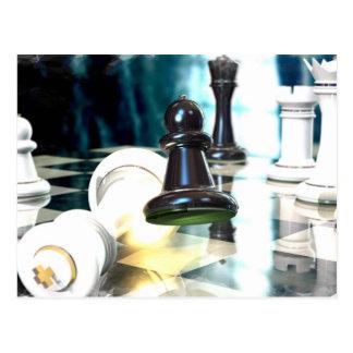 Postal del movimiento de ajedrez