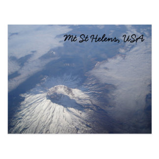 Postal del Mt St Helens