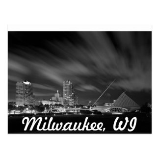 Postal del museo de arte de Milwaukee