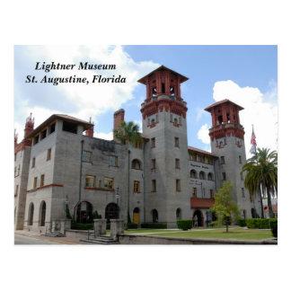 Postal del museo de Lightner