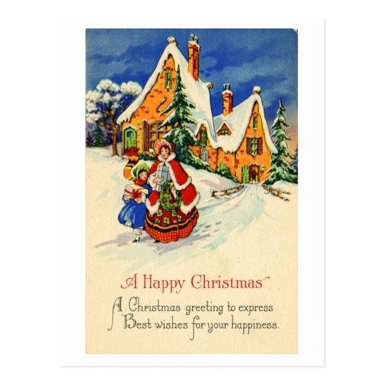 Postal del navidad (CA 1920)