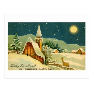 Postal del navidad CA 1940