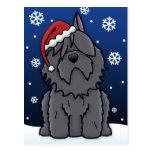 Postal del navidad del DES Flandres de Kawaii Bouv