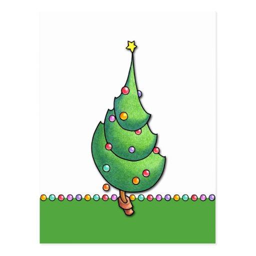 Postal del navidad Tree2