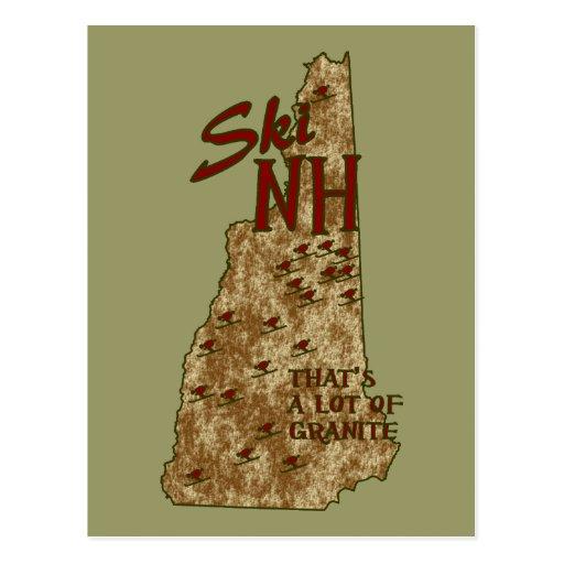 Postal del NH del esquí
