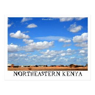 Postal del noreste de Kenia