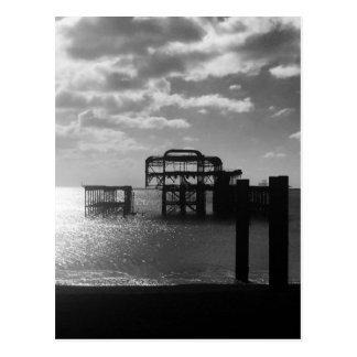 Postal del oeste del embarcadero de Brighton