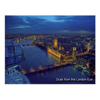 postal del ojo de Londres