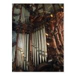 Postal del órgano de la catedral de Oliwa