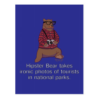 Postal del oso del inconformista