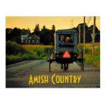 Postal del país de Amish