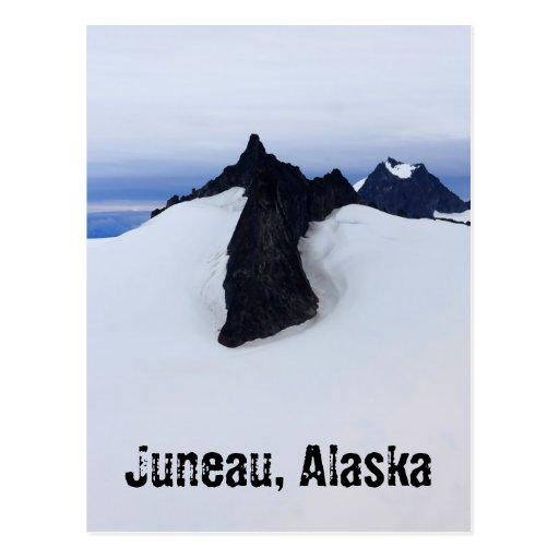 Postal del paisaje de Alaska
