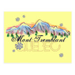 Postal del paisaje de la montaña de Mont Tremblant