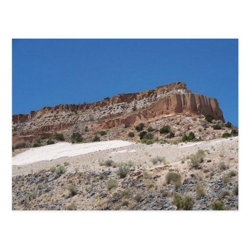 Postal del paisaje de New México