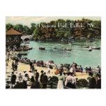 Postal del parque de Delaware del vintage