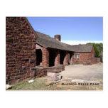 Postal del parque de estado de Bastrop