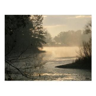 Postal del parque de estado del lago mosquito