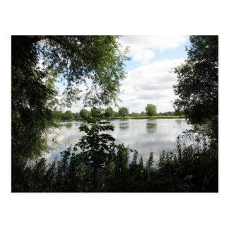 Postal del parque del país de Watermead