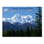 Postal del parque nacional de Denali
