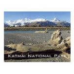 Postal del parque nacional de Katmai