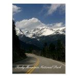Postal del Parque Nacional de las Montañas Rocosas