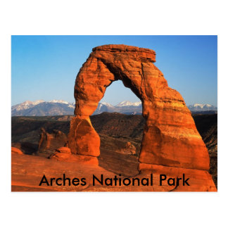 Postal del parque nacional de los arcos