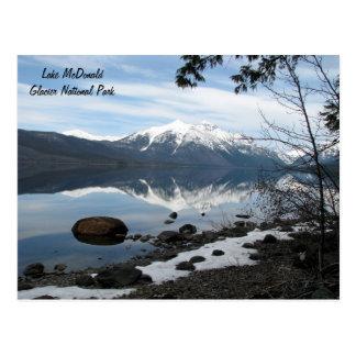 Postal del Parque Nacional Glacier
