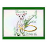 Postal del Pascua-Renovación-Renacimiento