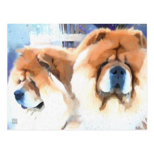 Postal del perro chino del heARTdog de la OCASIÓN