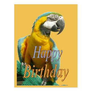 Postal del personalizable del feliz cumpleaños del
