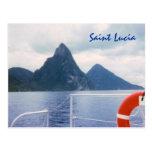 Postal del personalizado de la Santa Lucía