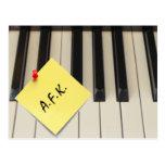 Postal del piano A.F.K. (lejos del teclado)