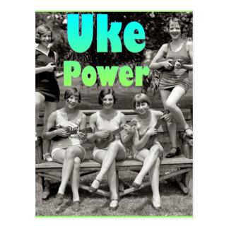 Postal del poder de Uke