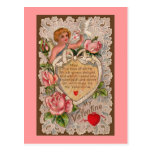 Postal del poema del Cupid
