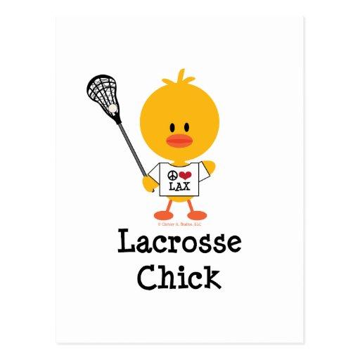 Postal del polluelo de LaCrosse