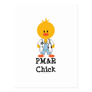 Postal del polluelo de PM R