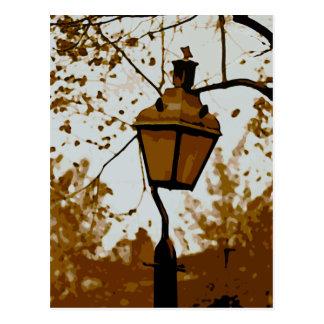 Postal del poste de la lámpara de Philadelphia