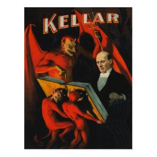 Postal del poster de Harry Kellar