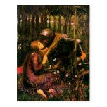 Postal del Pre-Raphaelite de John William Waterhou