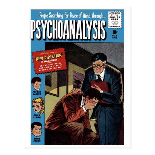 Postal del problema #2 del psicoanálisis