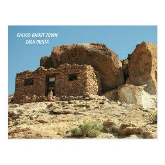 ¡Postal del pueblo fantasma del calicó