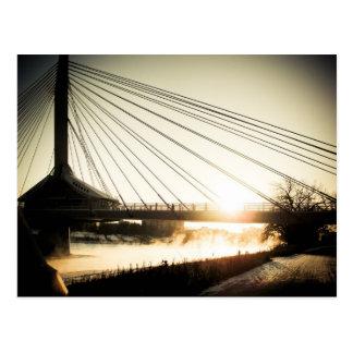 Postal del puente 01 de Bonifacio del santo de la